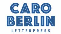 CARO BERLIN Letterpress