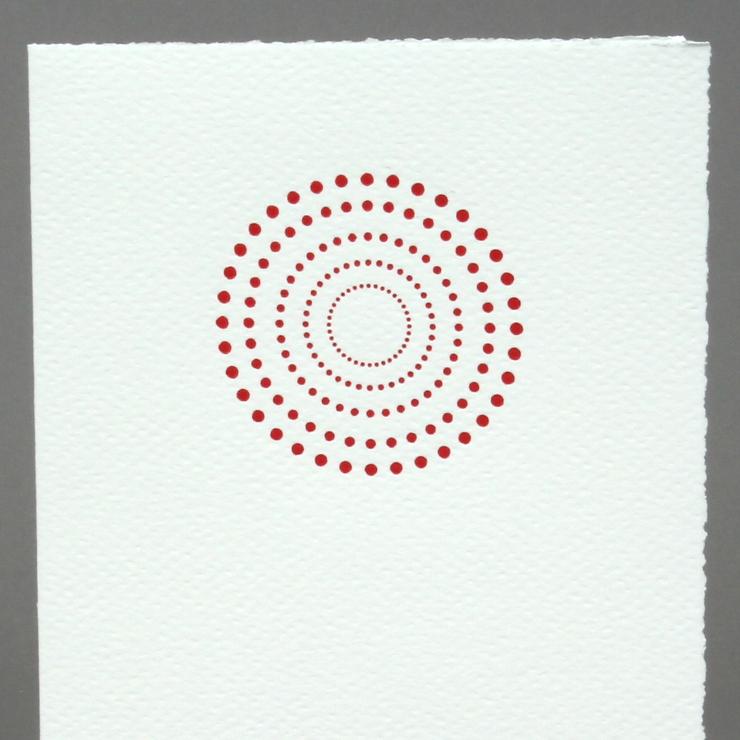 #16: Kreis, rot auf weiss