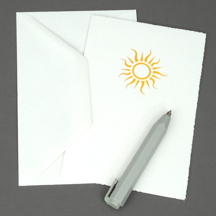 #4: Sonne, weiss